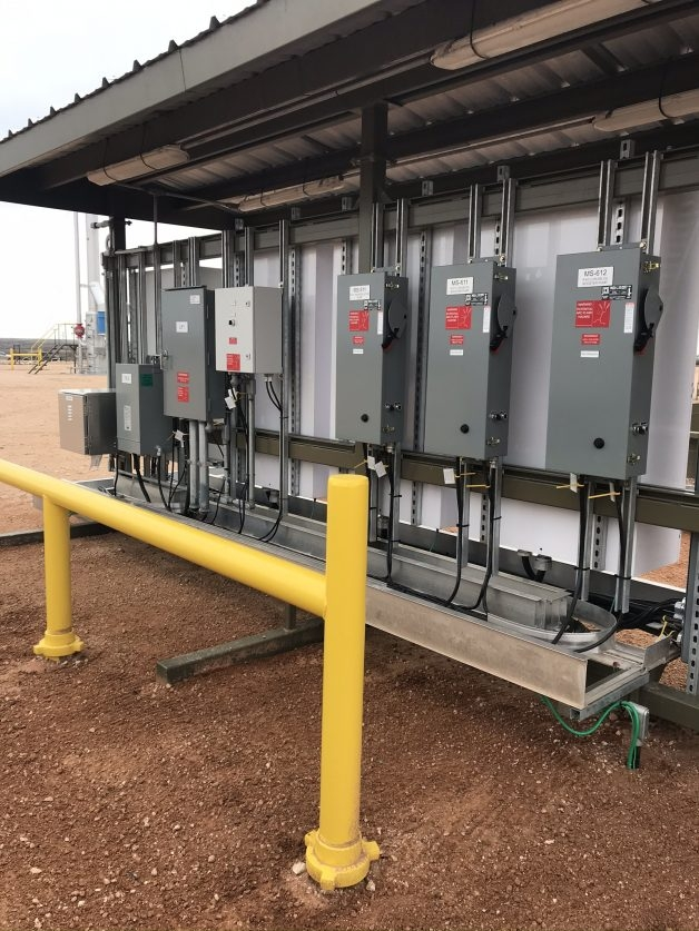 Panels Oil Site